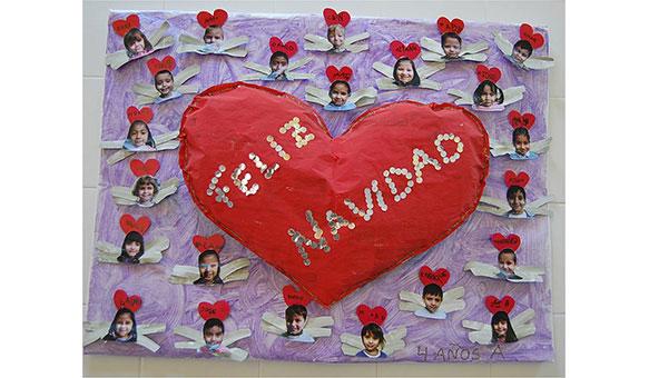Periodicos murales por navidad imagui - Mural navidad infantil ...